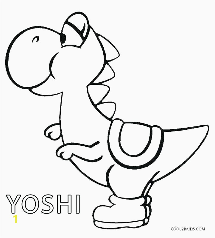 Mario and Yoshi Coloring Pages Elegant Coloring Pages Yoshi – Eastofthesun