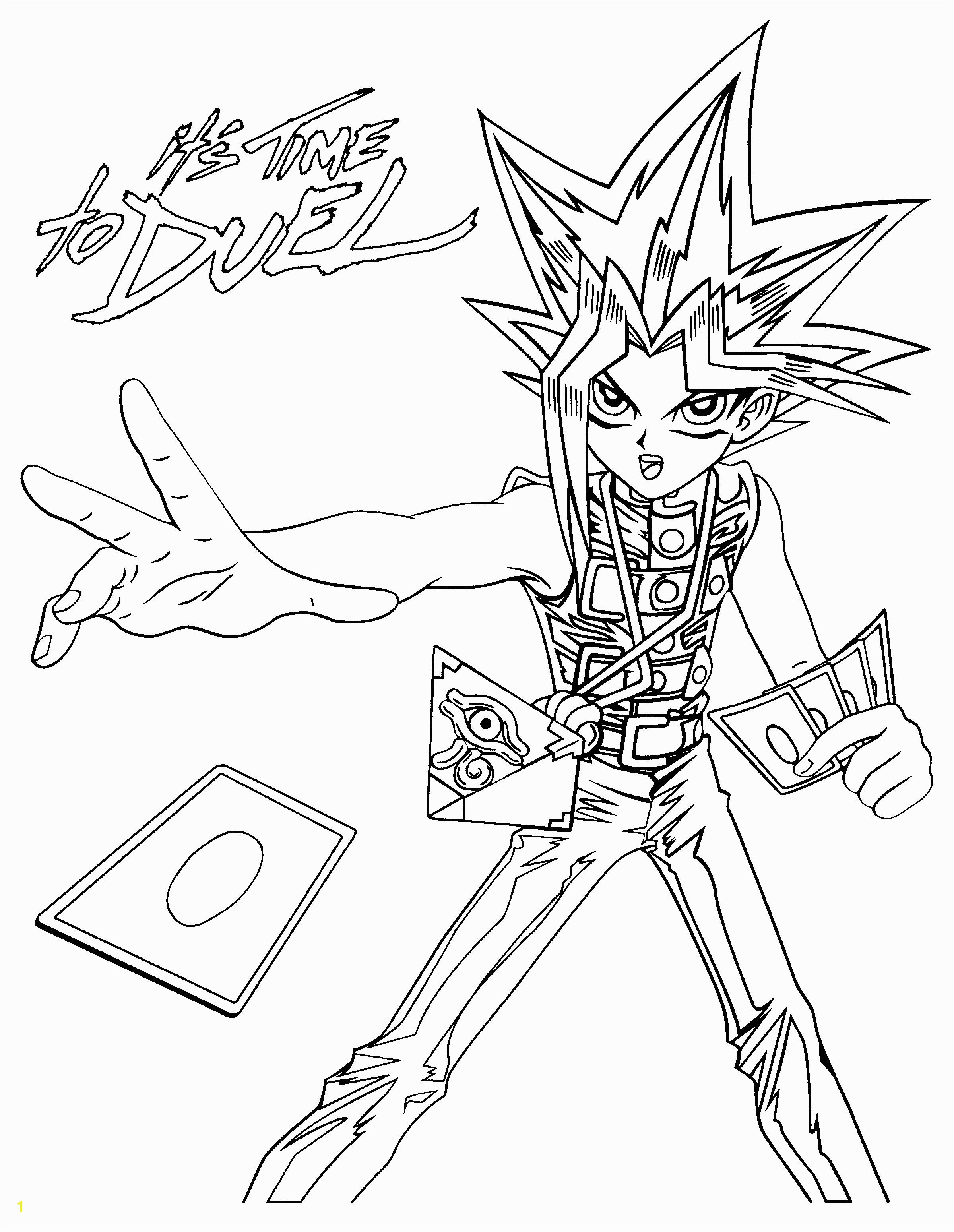 Yugioh Coloring Pages Yugioh Coloring Pages Luxury Yu Gi Oh Coloring Pages Free