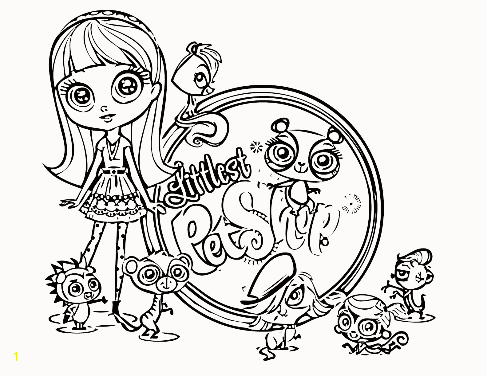 Pet Coloring Pages for Kids Inspirational Littlest Pet Shop Coloring Pages Best Coloring Pages for Kids