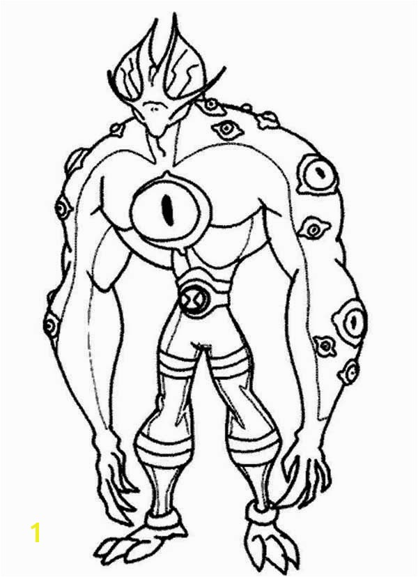 ben 10 benmummy coloring pages sketch templates