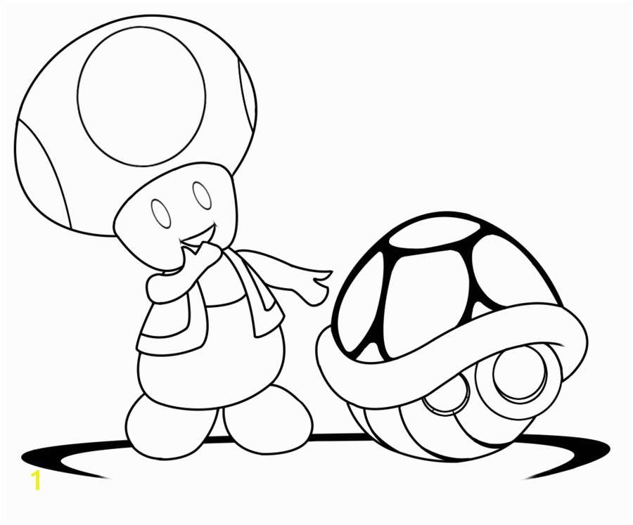 Lineart Toad