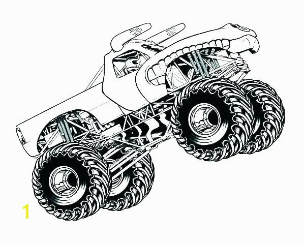 monster truck coloring book pages grave digger blaze free jam trucks colouring