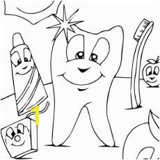 Dental Hygiene Color Page