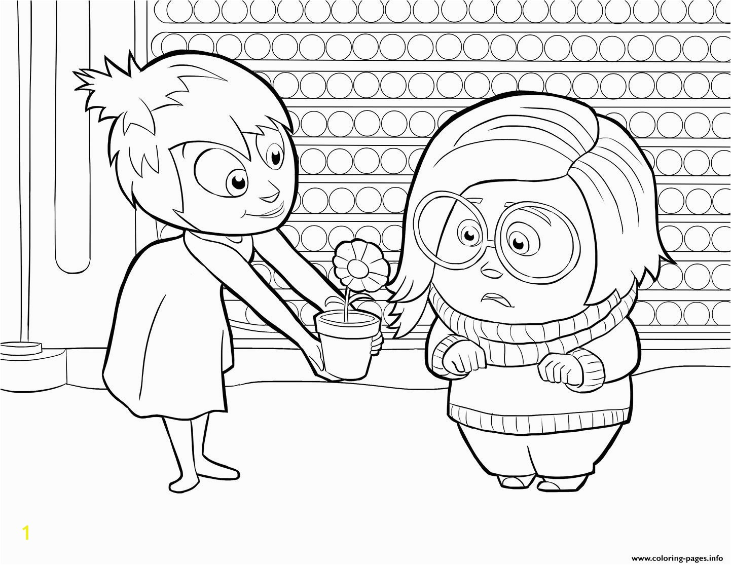 joy and sadness inside out printable coloring pages book