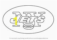 New York Jets Logo Coloring Pages