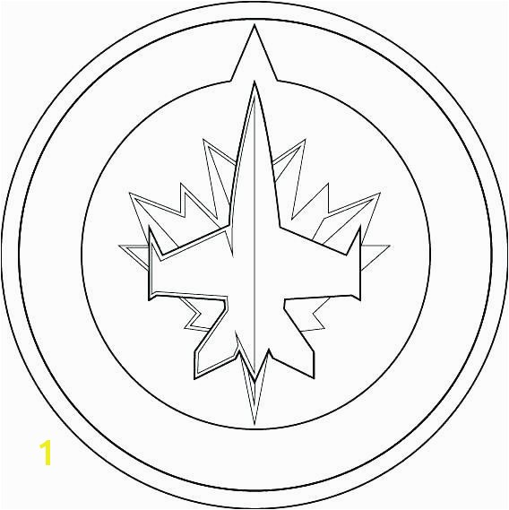 Jets Logo Coloring Page 5 by Shelby