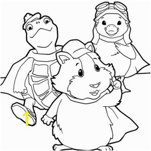 The Amazing Wonder Pets Coloring Page · Linny Turtle Tuck and Ming
