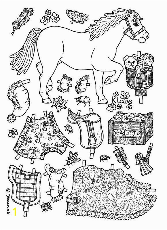 95 Best Paper Dolls Coloring Art Print Pages Colouring For S