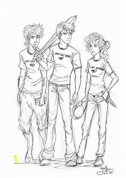 Percy Jackson Coloring Pages 1