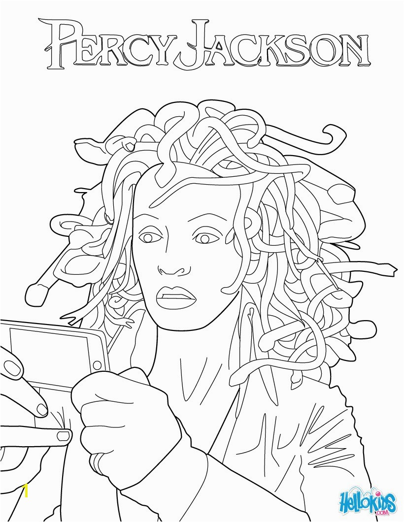 the lightning thief coloring pages sketch templates
