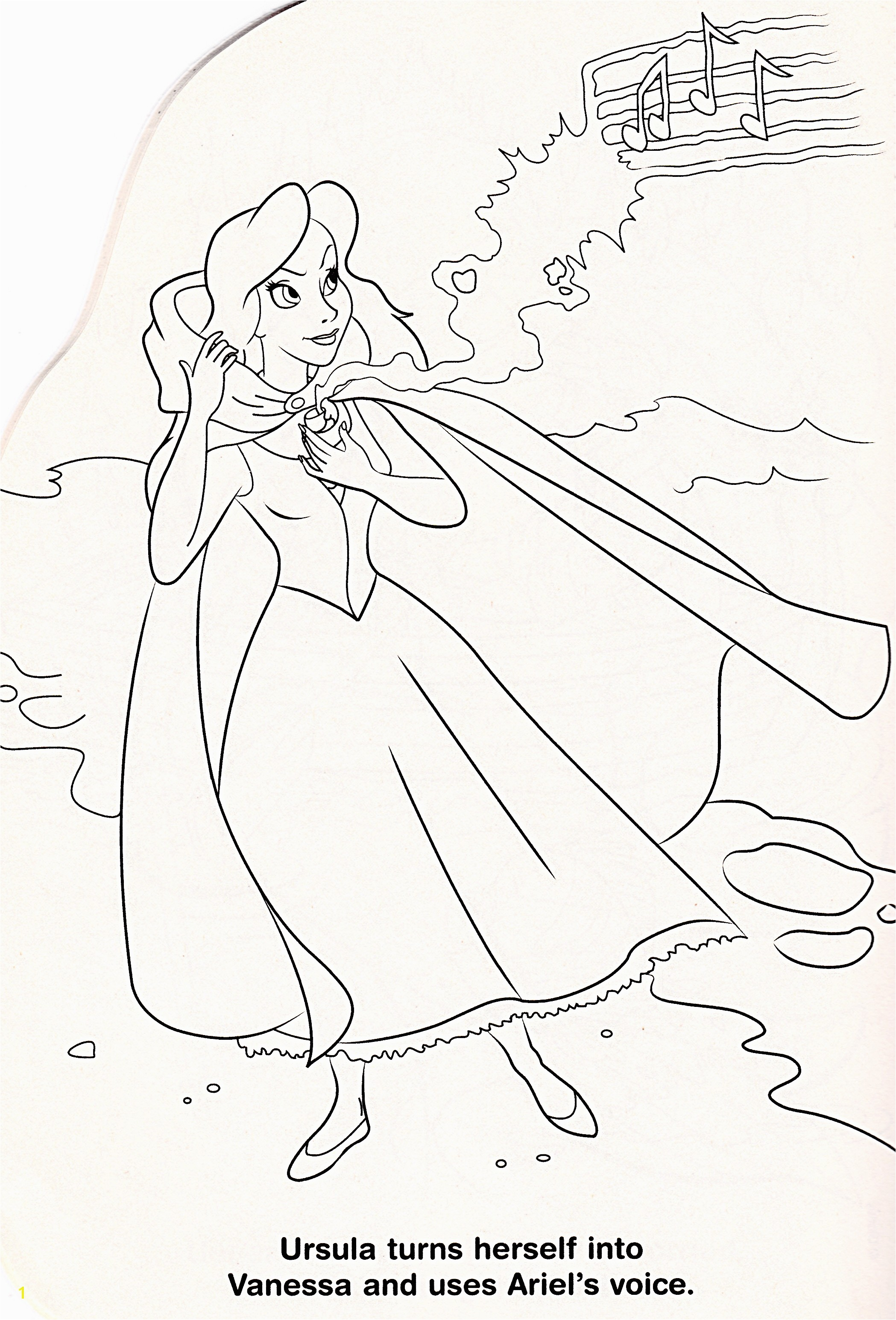 Karakter Walt Disney images Walt Disney Coloring Pages Vanessa HD wallpaper and background photos