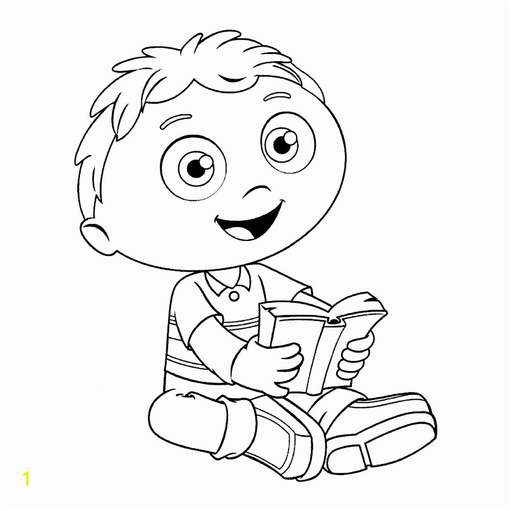 Super Why Coloring Pages Wyatt Superwhy Page