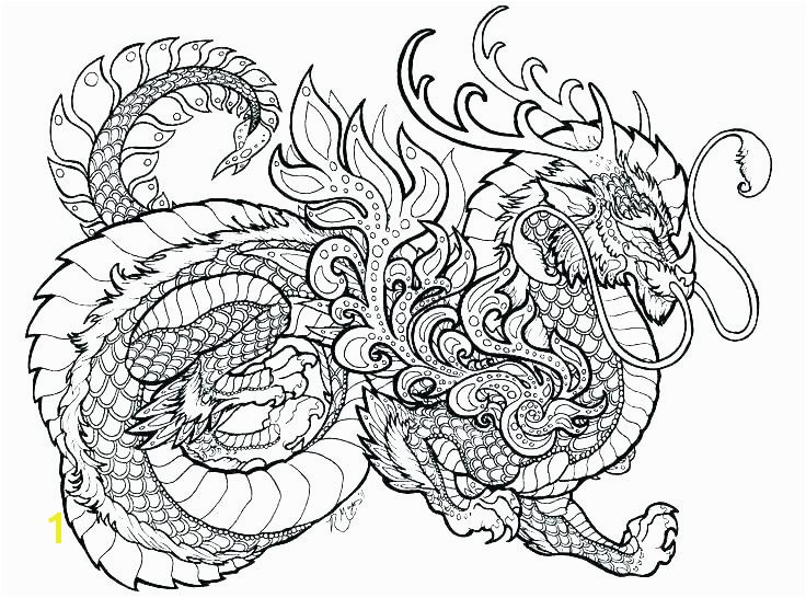New Year Dragon Coloring Page Pages Smith Chinese Mask Full size