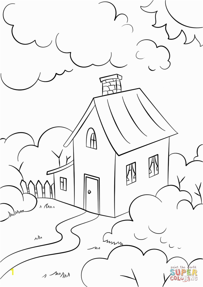 Advice Beach House Coloring Pages Lovely With Garden Page Free Printable