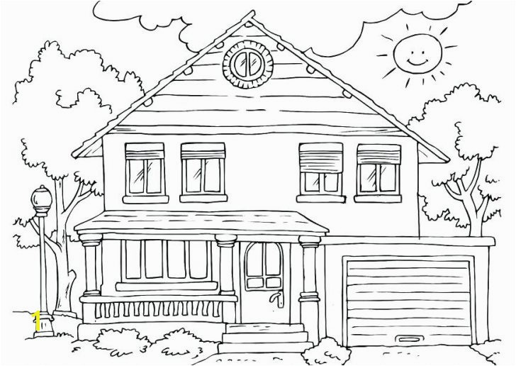 coloring pages for kids adults printable house page this features a simple free beach girls pdf
