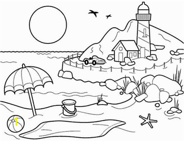 Lighthouse Coloring Pages Landscapes Beach Landscapes with Lighthouse Coloring Pages Lighthouse Coloring Pages Landscapes Beach