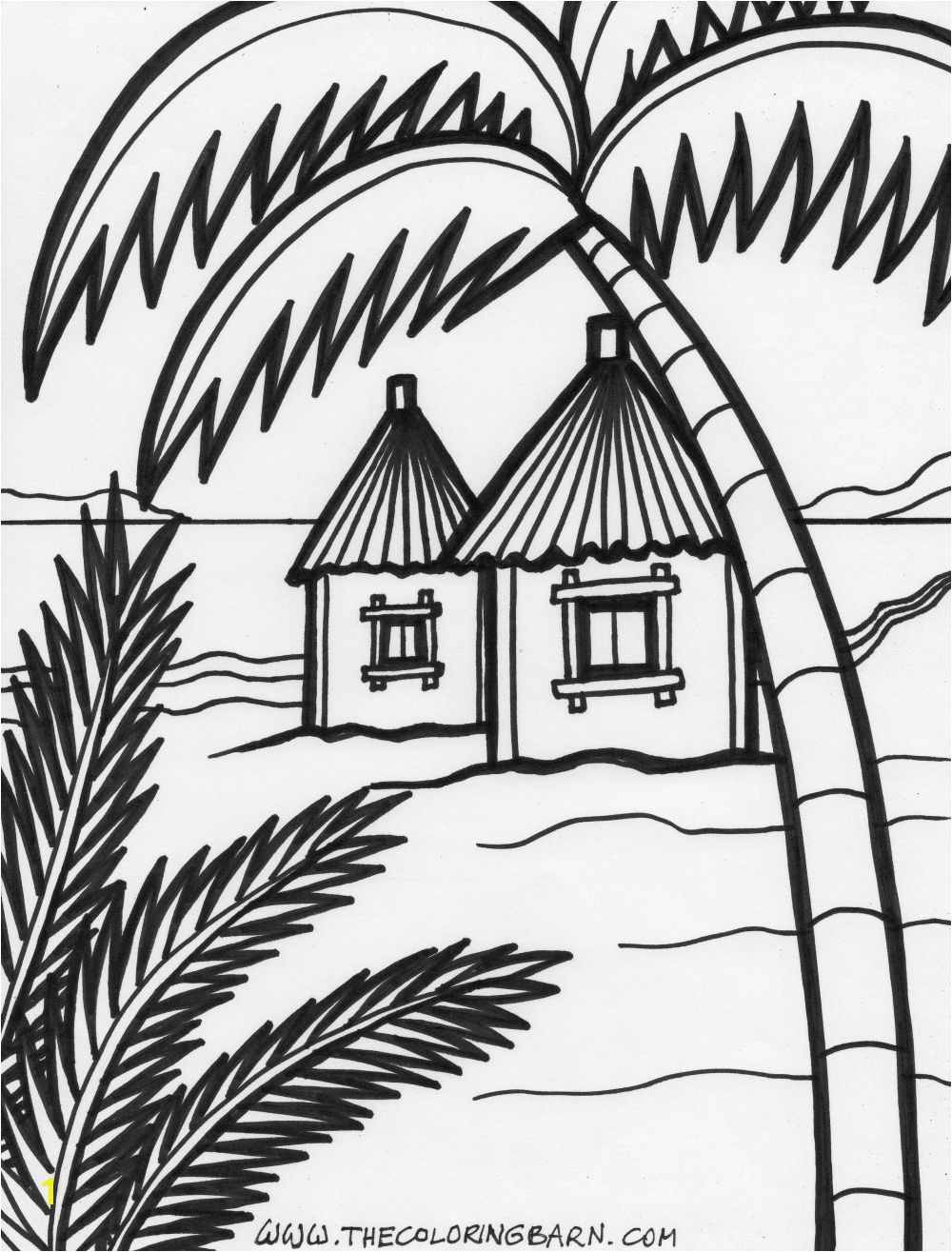 Beach House Colors Beach House Decor Beach Houses House Colouring Pages Summer