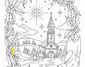 Christmas Coloring Page Instant Adult Coloring Christian