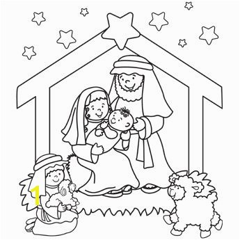 Nativity Coloring Page plus other Christmas coloring pages SS KC VBS Coloring pages Pinterest