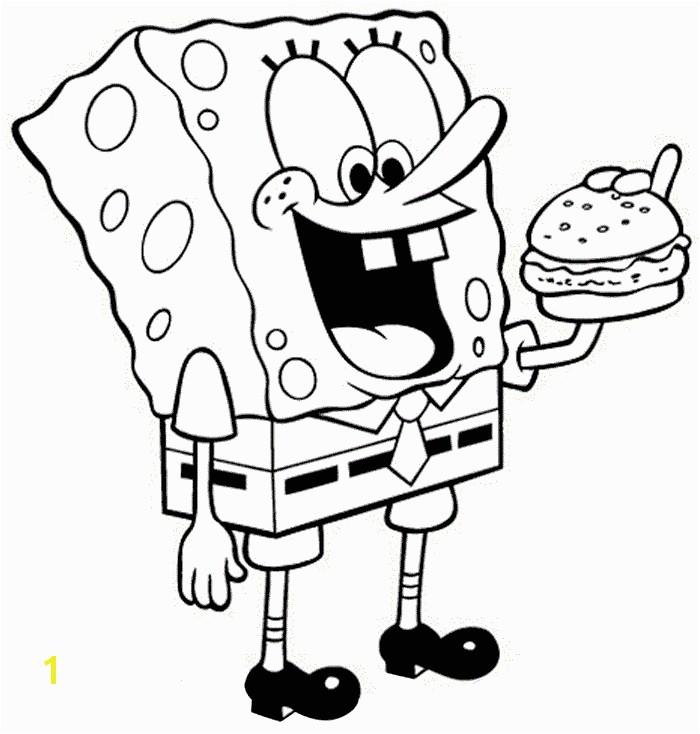 Spongebob Squarepants Coloring Pages For Kids