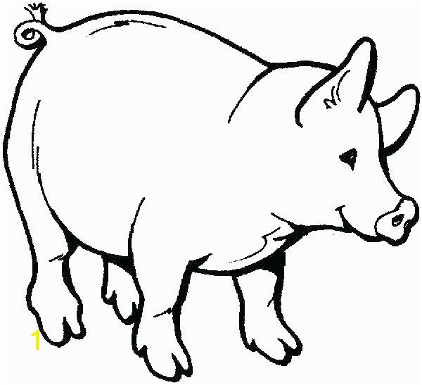 free printable color pages of animals farm animal coloring for kids