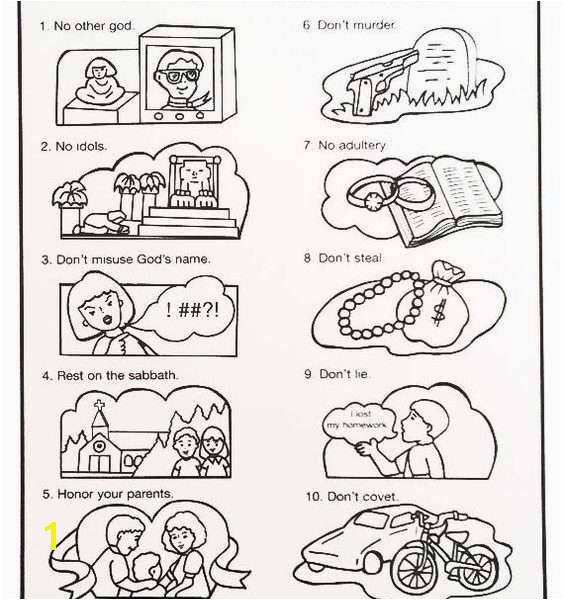 10 mandments Coloring Pages Unique 10 Mandments Coloring Pages Best Ten Mandments Activity Sheets 16