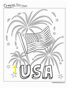 Party Ideas by Mardi Gras Outlet Memorial Day Coloring PagesColoring