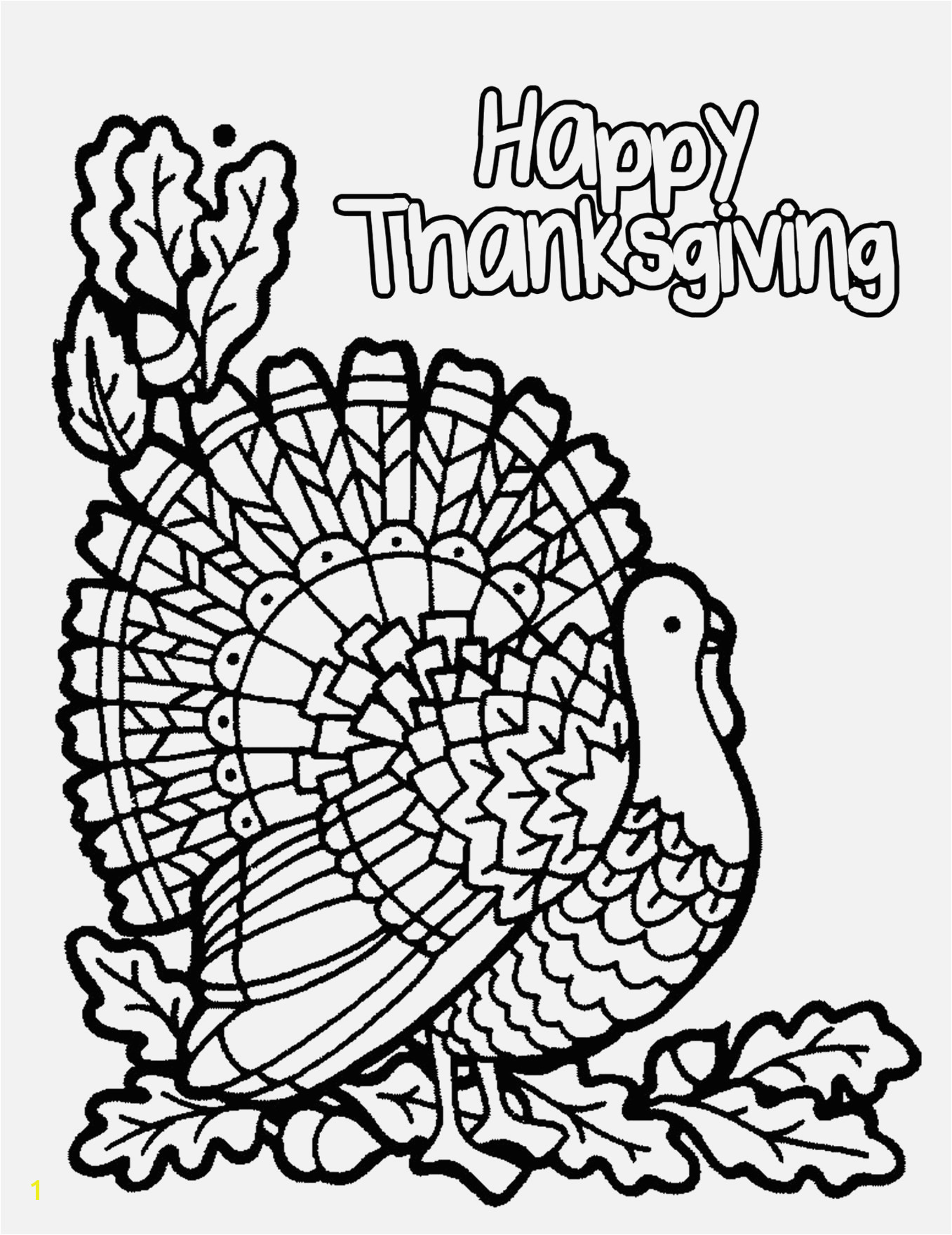 A Turkey for Thanksgiving Coloring Pages Free Printable Thanksgiving Coloring Pages top Free Printable