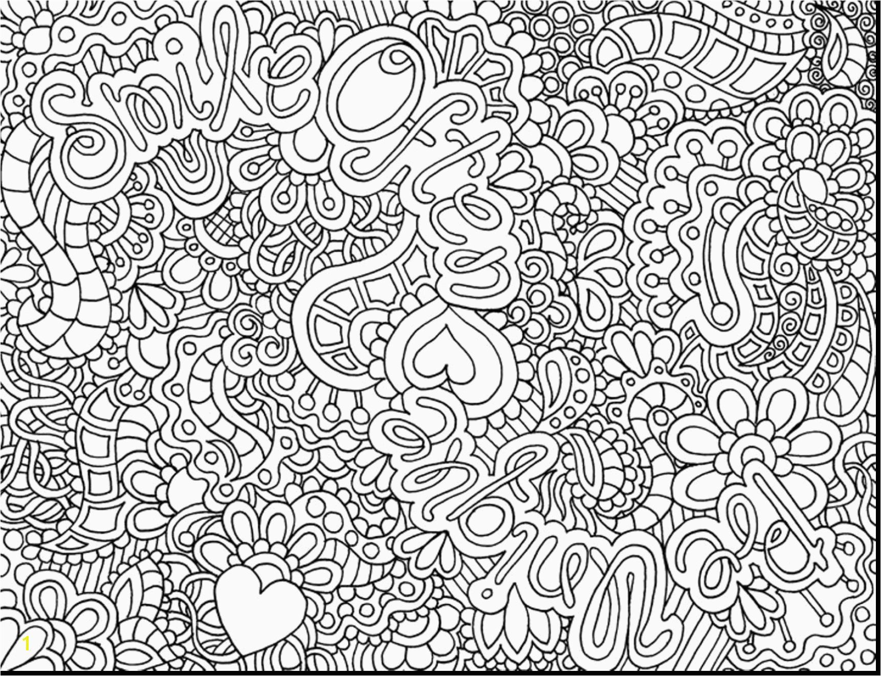 Abstract Coloring Pages for Teenagers Difficult Hard Abstract Coloring Pages for Teenagers 7a
