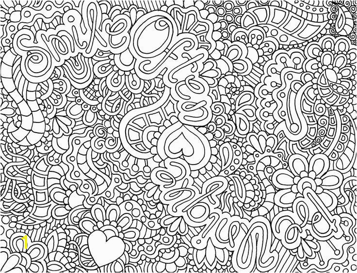 Abstract Coloring Pages for Teenagers Difficult Hard Coloring Pages