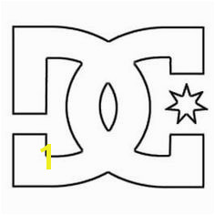 DC Logo Coloring Pages Bing
