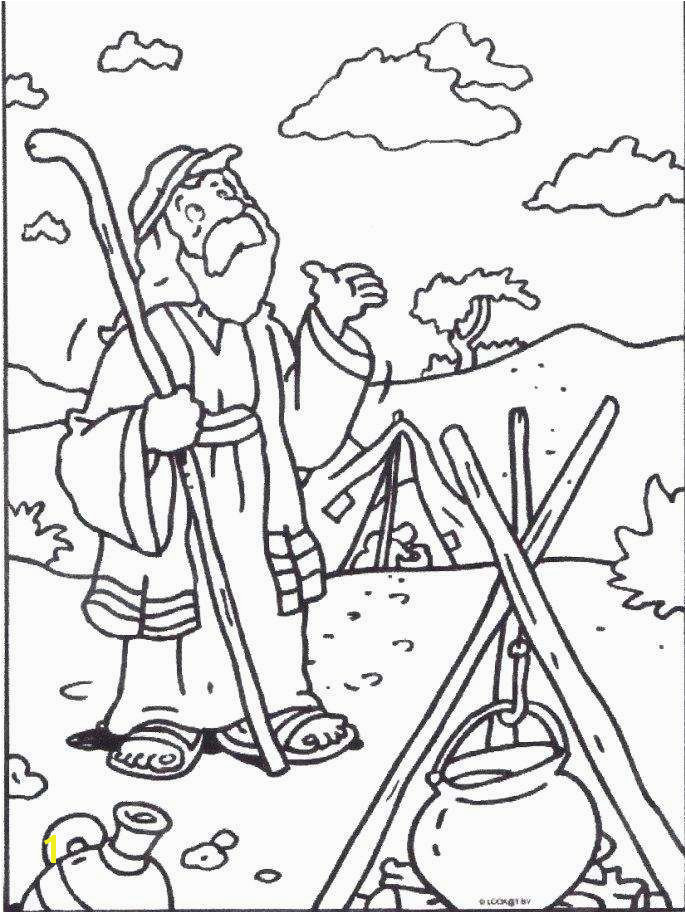 Abraham Coloring Pages Best Abraham and Sarah Coloring Pages Lovely Fers Coloring Page Coloring