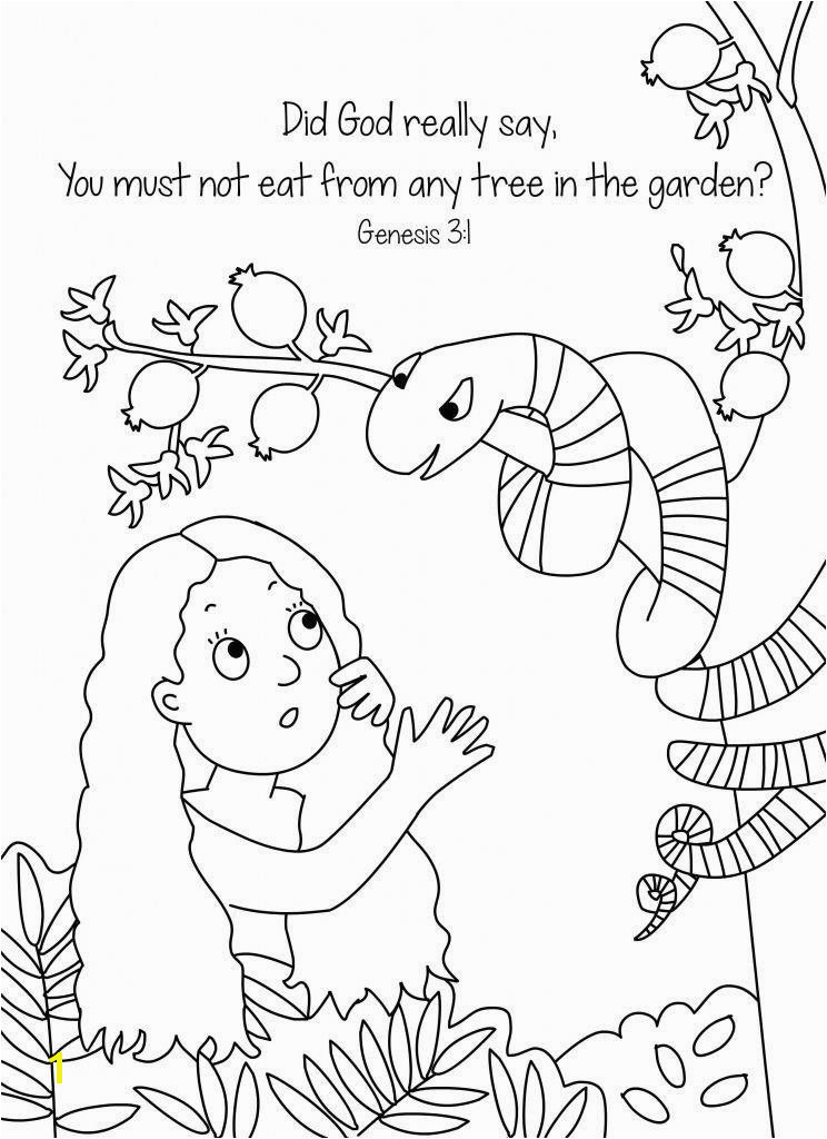 Garden Eden Coloring Pages Inspirational Garden Eden Coloring Pages Awesome Adam and Eve and the
