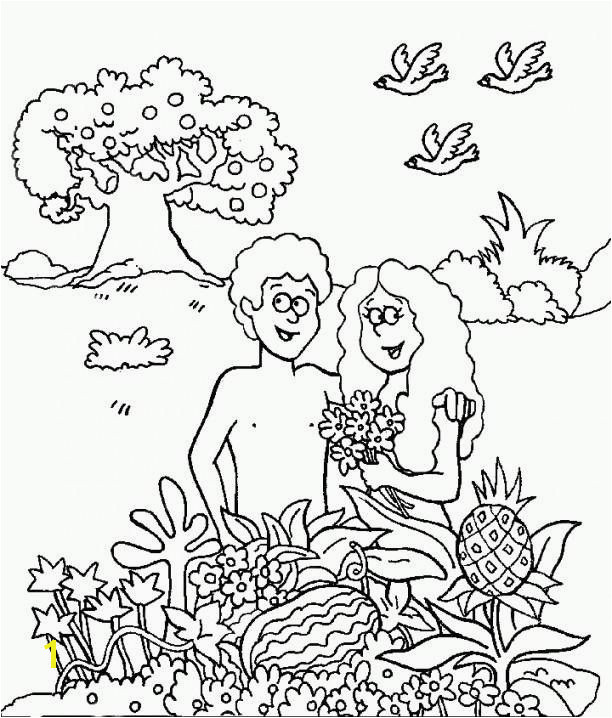Garden Eden Coloring Pages Best Adam and Eve Coloring Pages for Kids Cain and