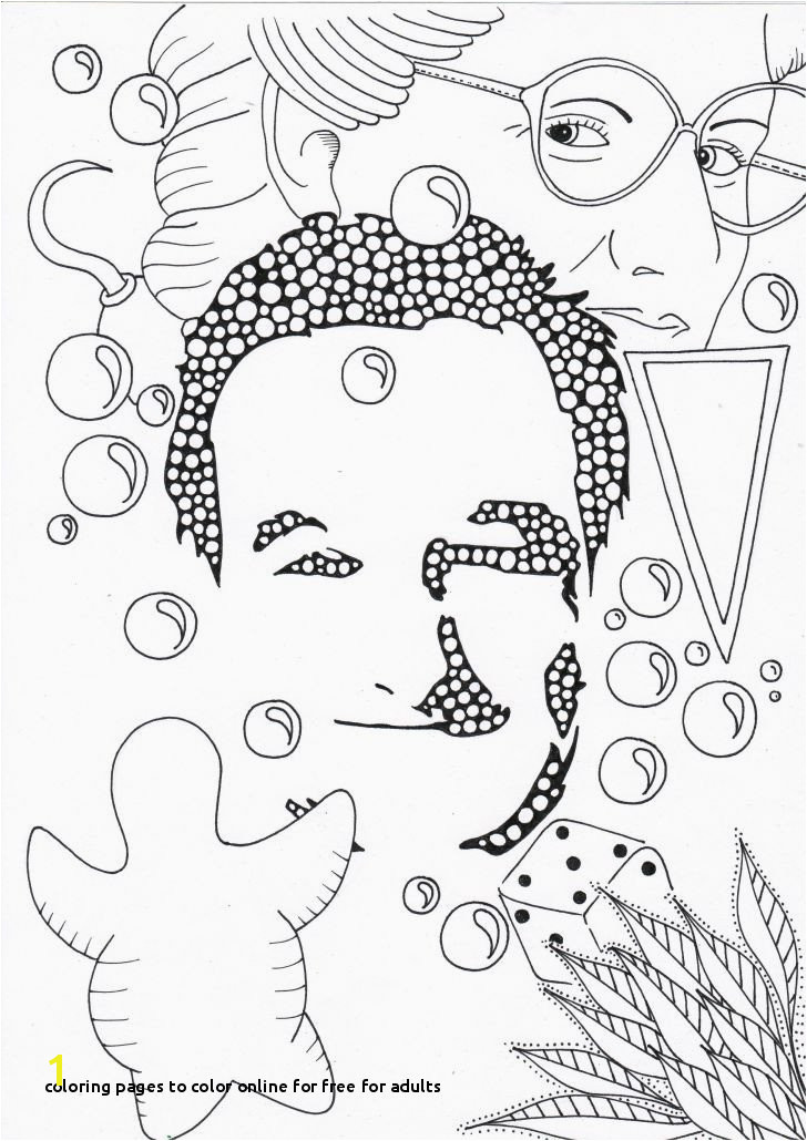 O D Coloring Pages to Color line for Free for Adults Coloring Pages to Color Line Unique Coloring