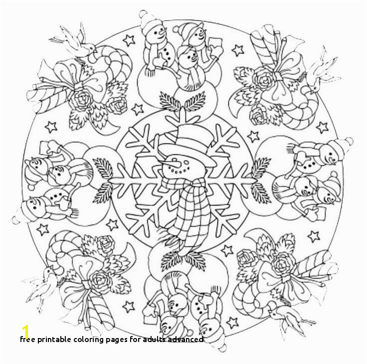 Free Printable Coloring Pages for Adults Advanced Printable Advanced Coloring Pages Awesome Printable Cds 0d