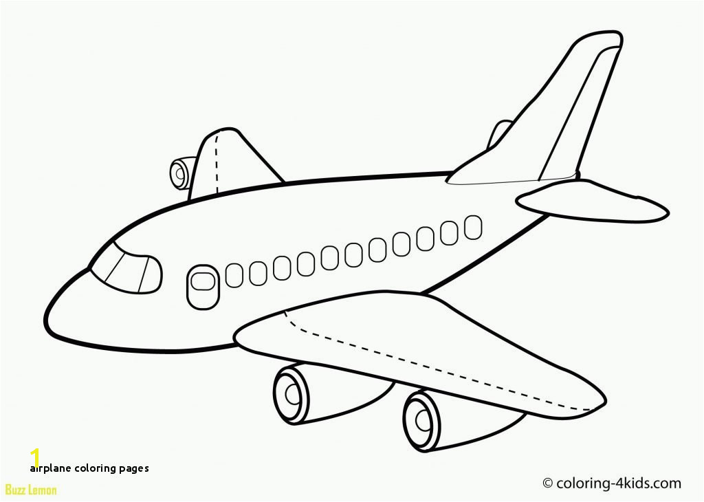 Airplane Coloring Book Best Elegant Airplane Coloring Pages 33 For
