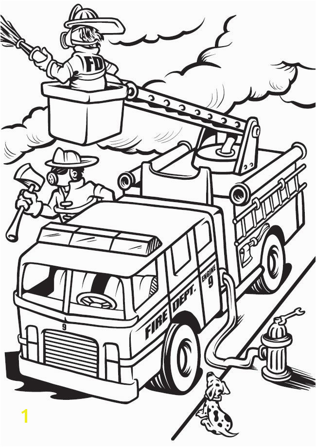Airport Fire Truck Coloring Page Things that Go Coloring Book Cars Trucks Planes Trains and More