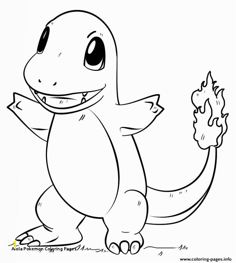 A a Pokemon Coloring Pages Print Charmander Pokemon Go Coloring Pages