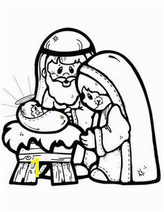 Nativity Scene coloring page from Jesus Nativity category Select from printable crafts of cartoons