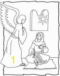 the angel visits mary coloring page Google Search Engel Gabriel Sunday School Lessons