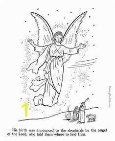 Angel coloring pages to print 046