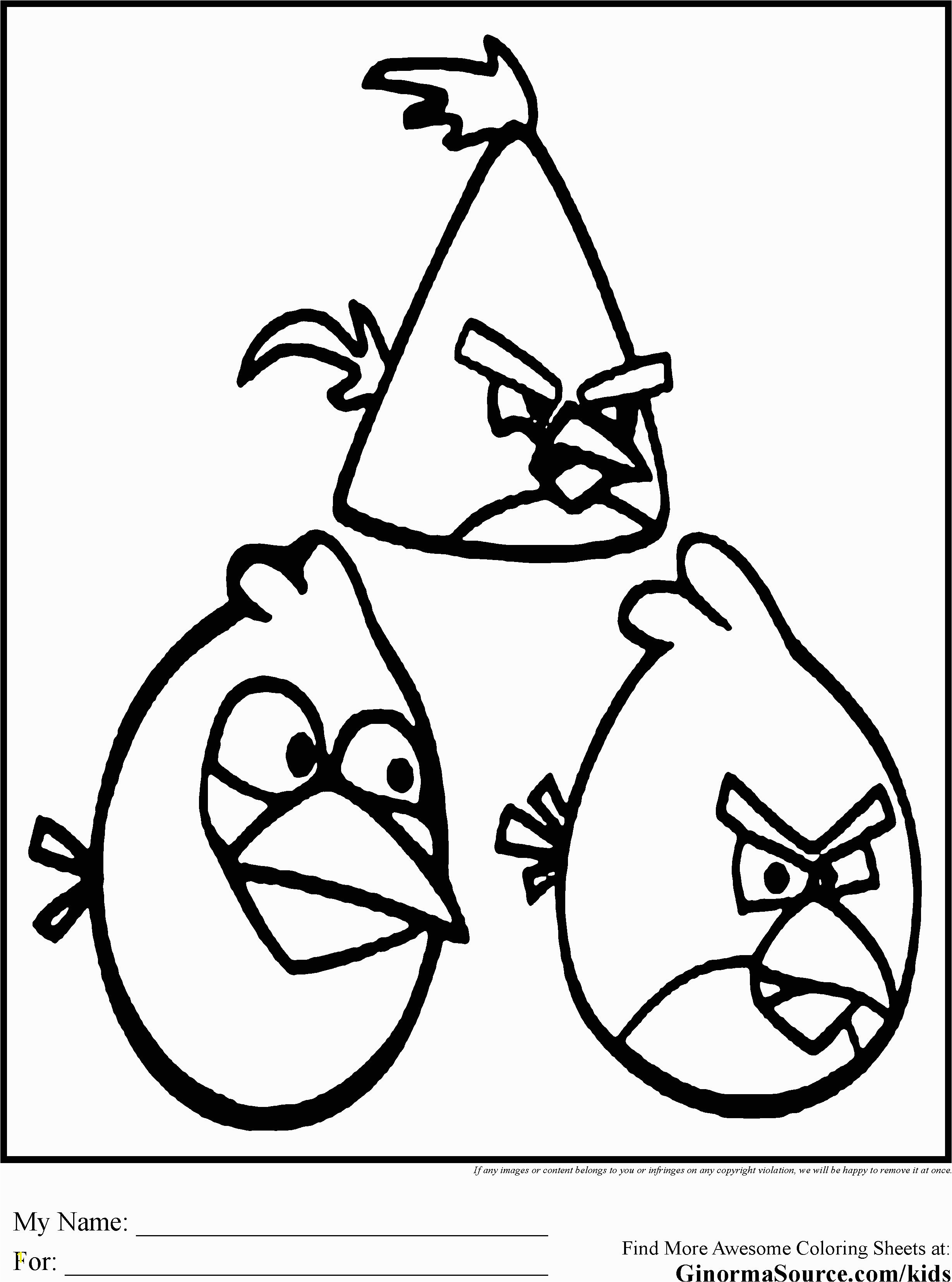 Angry Birds Coloring Pages Angry Birds Coloring Pages Free to Print Inspirierend Ausmalbilder Angry Birds