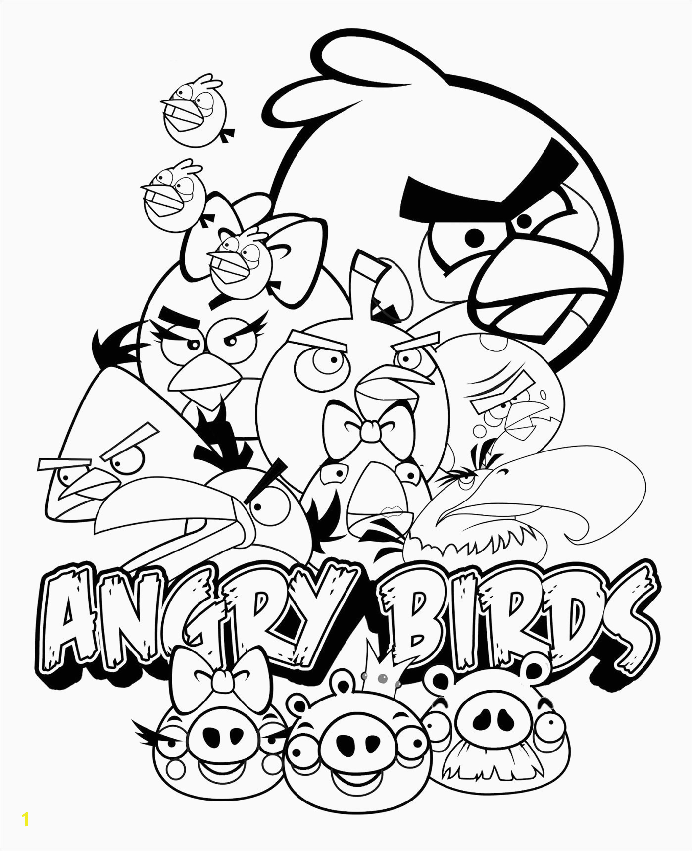 Angry Birds Bad Piggies Coloring Pages Unique Angry Birds Star Wars Coloring Pages Flower Coloring Pages
