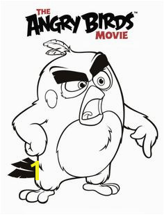 angry birds movie red coloring pages printable and coloring book to print for free Find more coloring pages online for kids and adults of angry birds movie