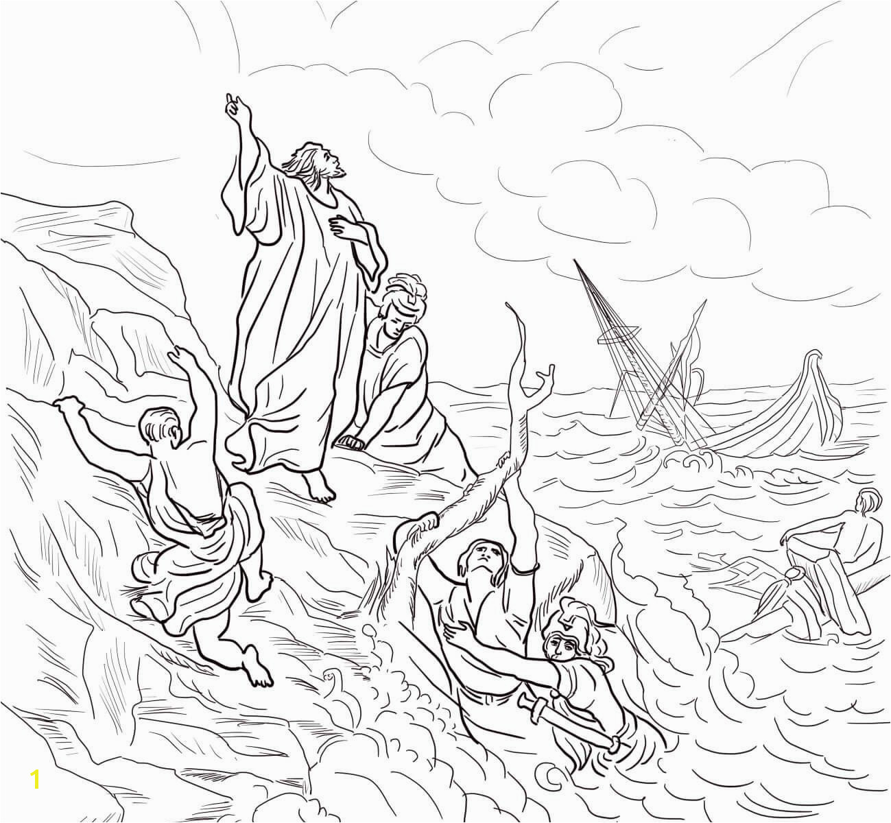 Apostle Paul Shipwrecked Coloring Page Awesome attractive Coloring Pages for Adults Free to Print Adornment