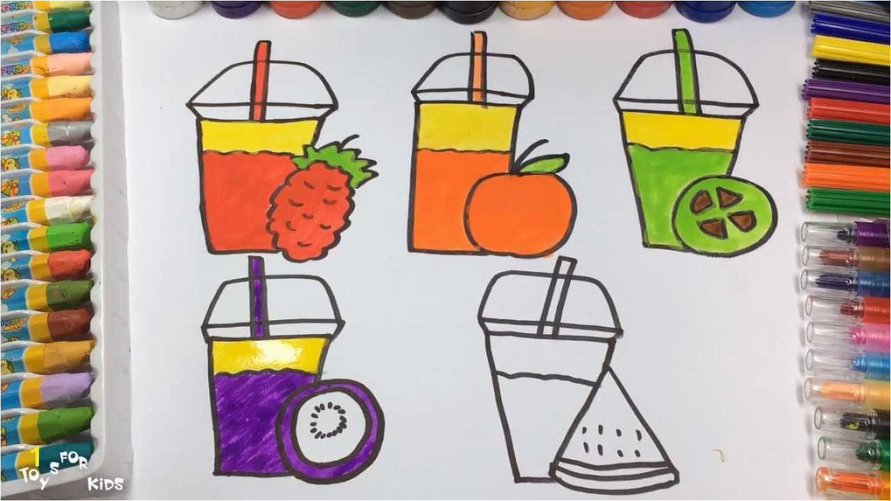 How to Draw Lots of Vitamins Coloring Pages Youtube Videos for Kids