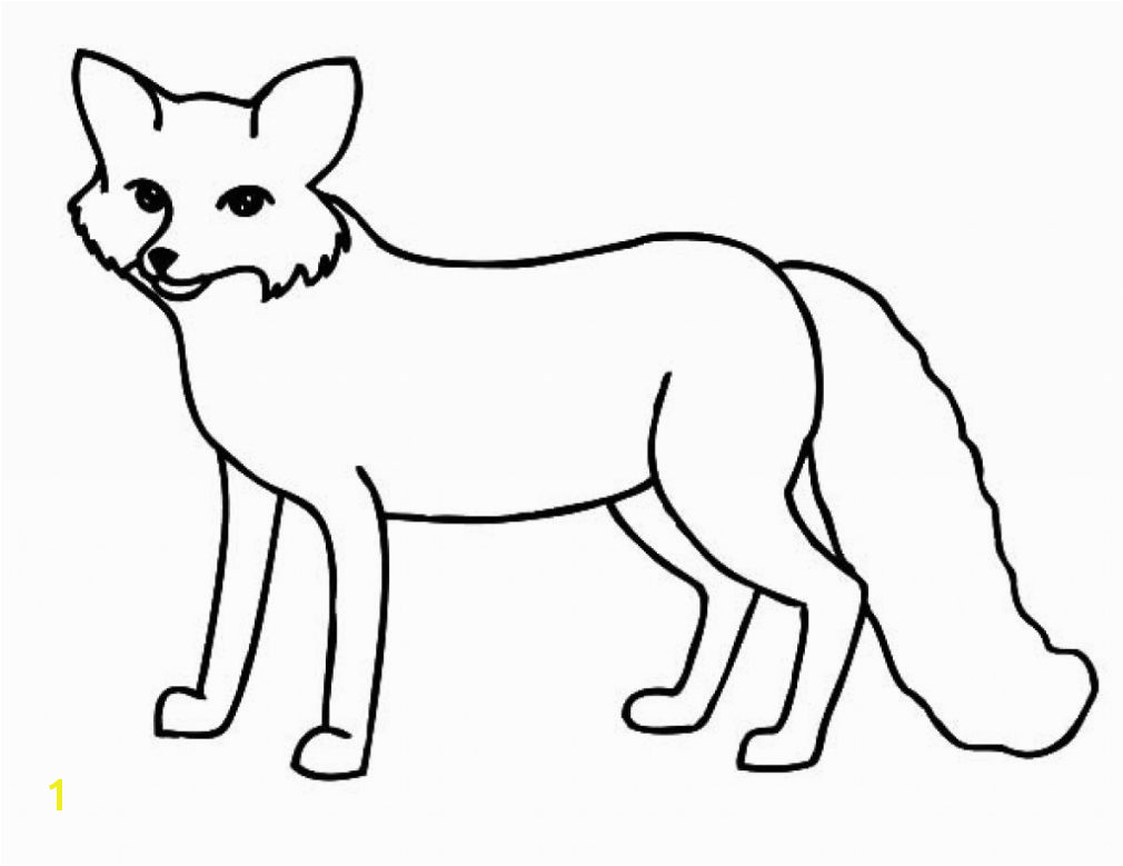 Fox Coloring Pages Beatiful Fox Coloring Pages For Fox Coloring Pages Draw Arctic Fox Coloring Page