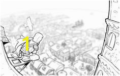 Assassin s Creed Coloring Page Assassins Creed 2 Guardian Angels Coloring Pages Quote Coloring