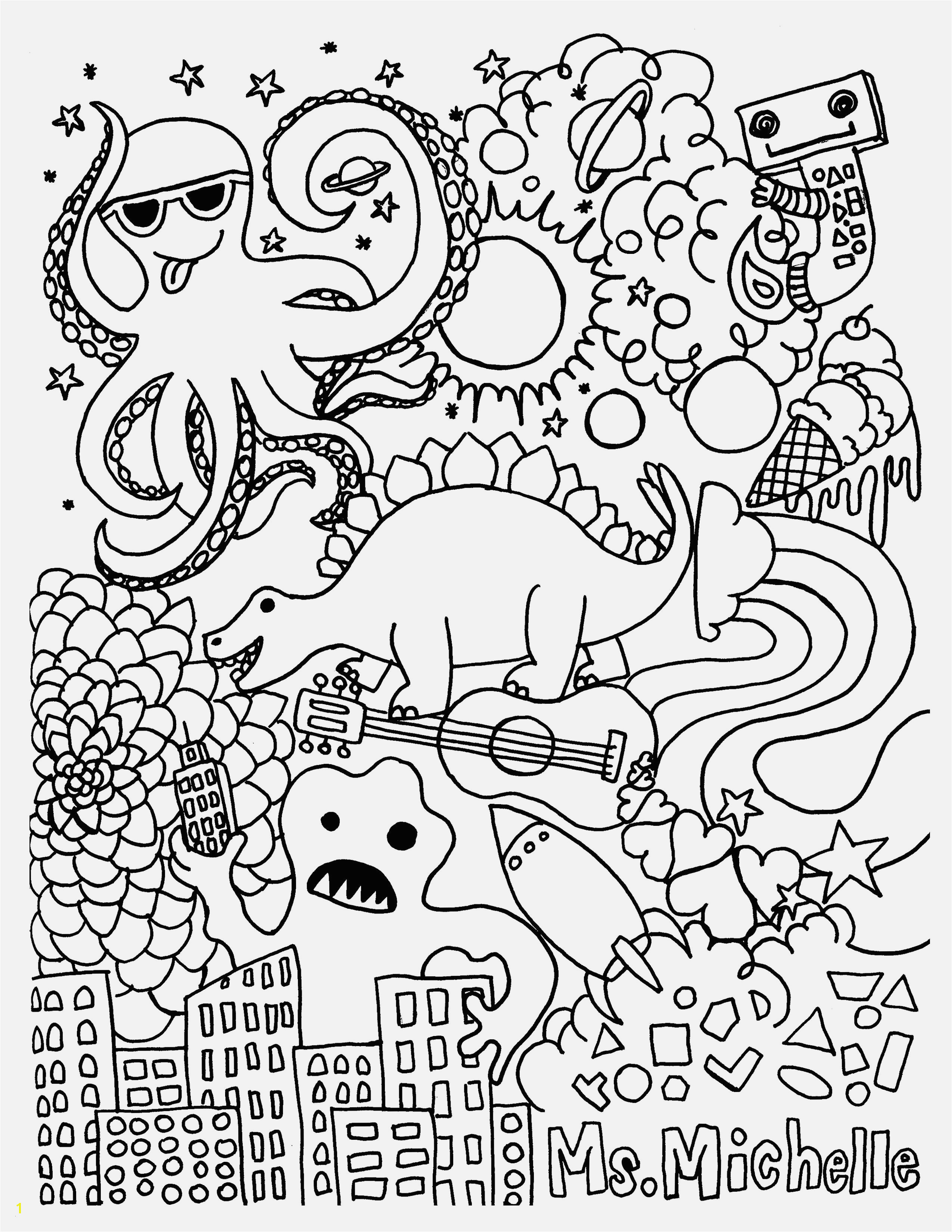Gallery of Medusa Coloring Pages